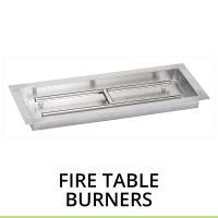 Fire Table Burners