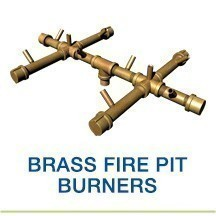 Brass Fire Pit Burners