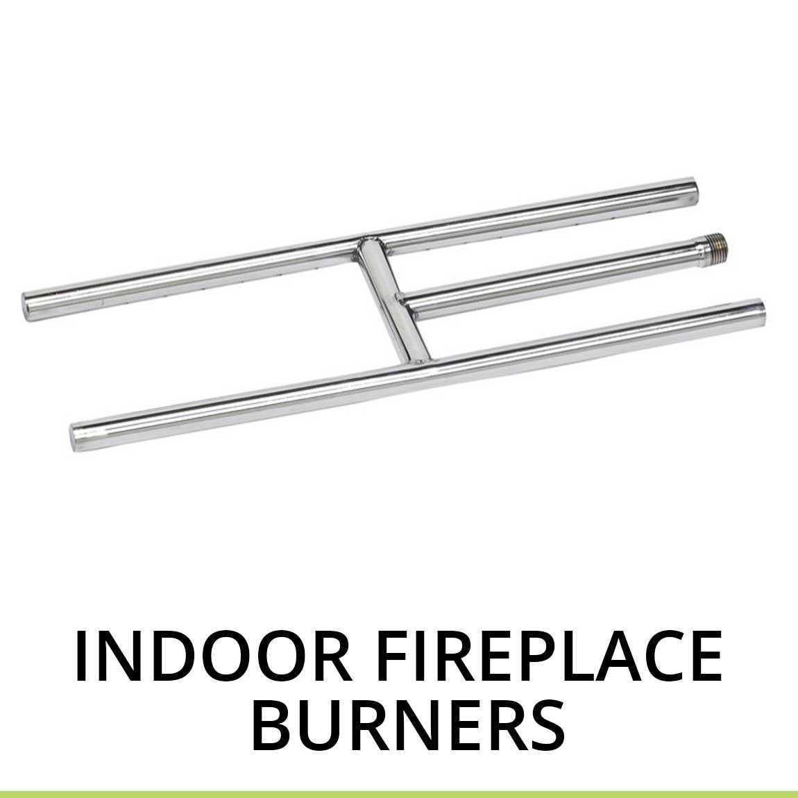 Indoor Fireplace Burners