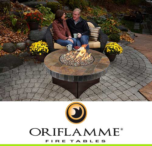 Oriflamme Gas Fire Pit Tables