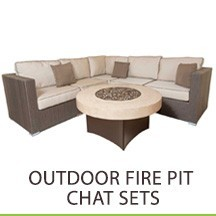 Outdoor Fire Pit Chat Sets