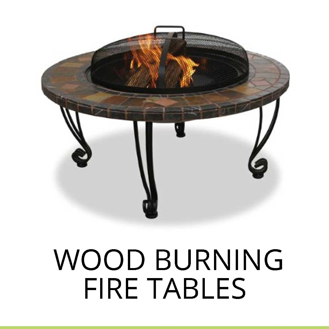 Fire pits oriflamme fire pit tables all backyard fun for Concreteworks fire table