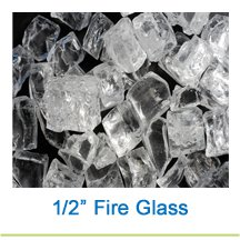 1/2 Inch Fireglass