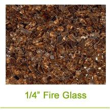 1/4 Inch Fireglass