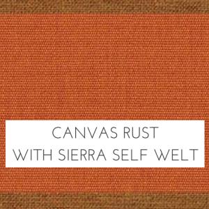 Canvas Rust w/ Spectrum Sierra Welt +$279.00