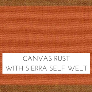 Canvas Rust/ Spectrum Sierra Welt +$96.00