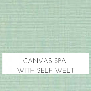 Canvas Spa w/ Self Welt