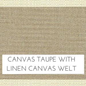 Canvas Taupe / Linen Canvas Welt