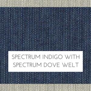 Spectrum Indigo w/ Spectrum Dove Welt +$279.00