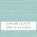 Dupione Celeste (CAN SHIP IN 3 BUSINESS DAYS) +$40.00
