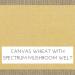 Canvas Wheat with Spectrum Mushroom Welt +$279.00