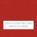 Canvas Jockey Red +$25.00
