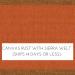 Canvas Rust / Spectrum Sierra Welt +$360.00