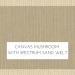 Canvas Mushroom with Canvas Sand Welt +$96.00