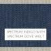 Spectrum Indigo with Spectrum Dove Welt +$96.00