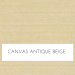 Canvas Anique Beige with Self Welt