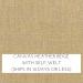 Canvas Heather Beige w/ Self Welt: Quick Ship