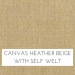 Canvas Heather Beige / Self Welt