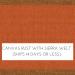 Canvas Rust w/ Spectrum Sierra Welt: Quick Ship