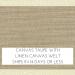 Canvas Taupe w/ Linen Canvas Welt +$66.00