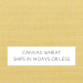 Canvas Wheat w/ Self Welt