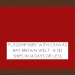 Flagship Ruby w/ Canvas Bay Brown Welt +$66.00