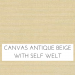 Canvas Antique Beige w/ Self Welt