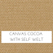 Canvas Cocoa w/ Self Welt
