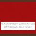 Flagship Ruby w/ Canvas Bay Brown Welt +$99.00
