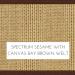 Canvas Sesame w/ Canvas Bay Brown Welt