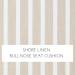 Shore Linen- Bullnose