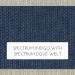 Spectrum Indigo with Spectrum Dove Welt