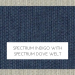 Spectrum Indigo with Spectrum Dove Welt