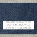 Spectrum Indigo w/ Spectrum Dove Welt +$22.00