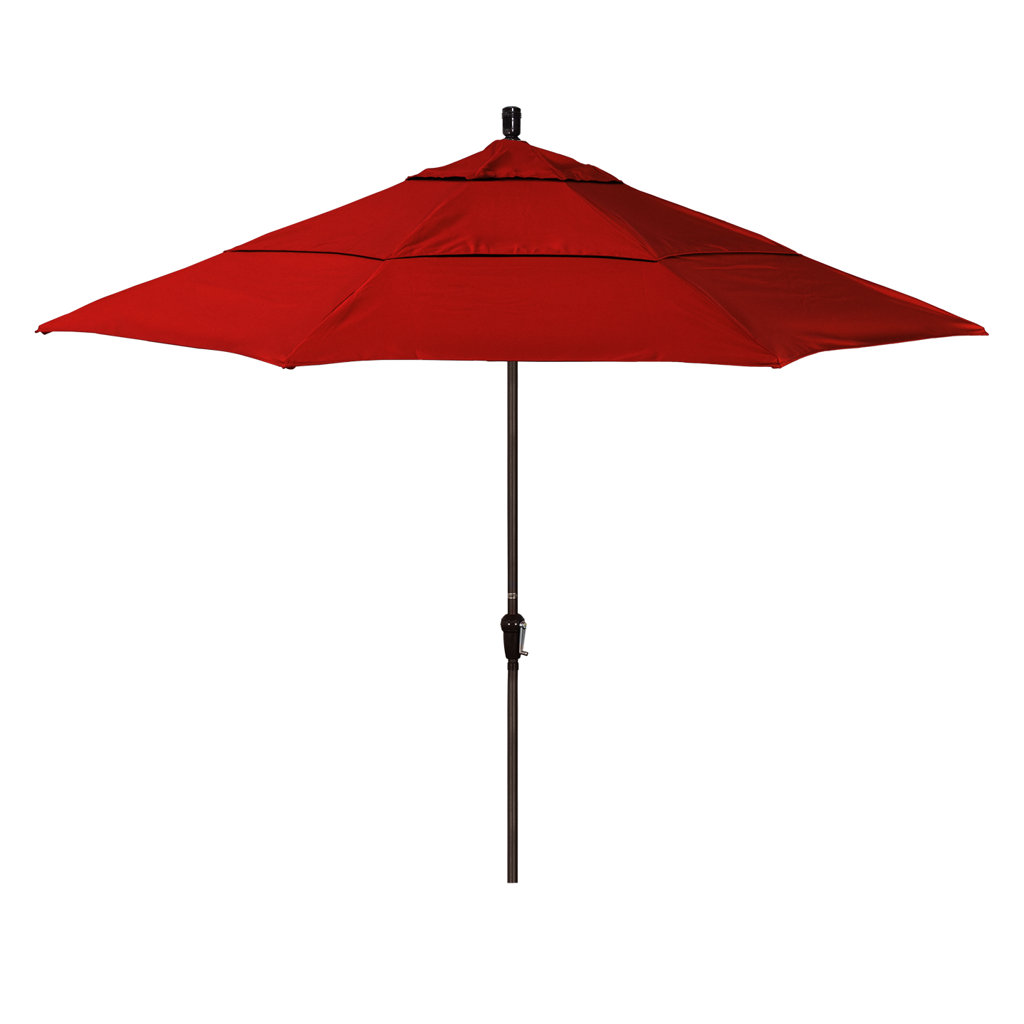 11' Traditional Outdoor Umbrella with Double Wind Vents
