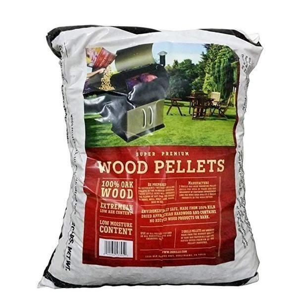 Oak Wood Pellets - 20lb bag