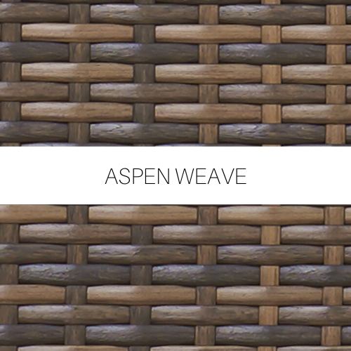 Aspen Wicker Weave (shown in image)