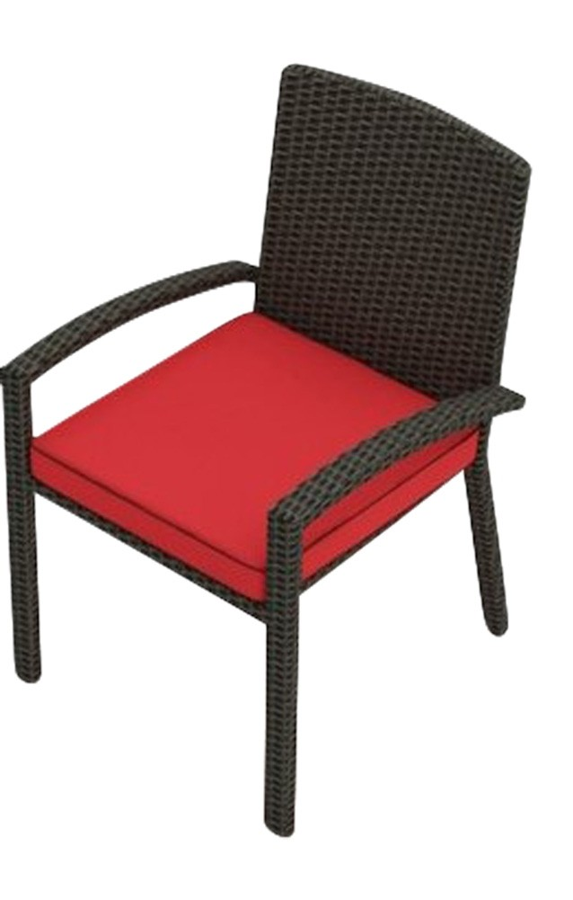 Cabo Wicker Dining Arm Chair