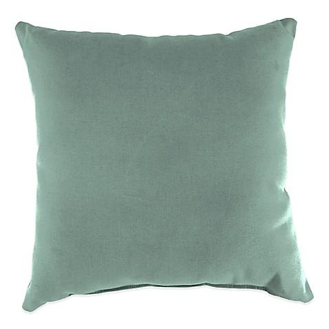 Canvas Spa Sunbrella Throw Pillow