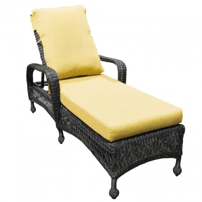 Charleston Single Chaise Lounge Replacement Cushions