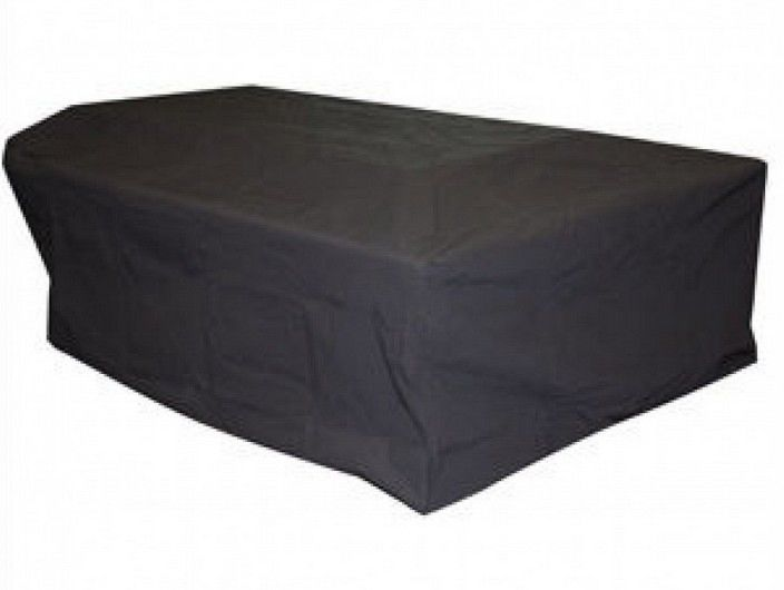 "All Weather Polyester Outdoor Rectangle Cover - 58"" Blk"