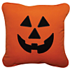 Halloween Jack-O-Lantern Applique Outdoor Pillow