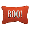 Halloween BOO! Embroidered Outdoor Pillow
