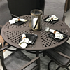 "Portica Allegro 5 Piece Dining Set with 54"" Round Table"