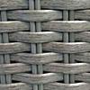 Fossil Grey wicker resin frame