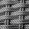 Grey Rope frame detail