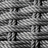 Grey Rope frame detail