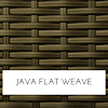 Java flat wicker
