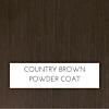 Country Brown Finish