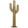 Outdoor Metal Saguaro Cactus Torch - 6.5 ft